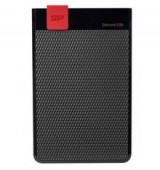 SILICON POWER εξωτερικός HDD 2TB Diamond D30 D3S, USB 3.1, μαύρος