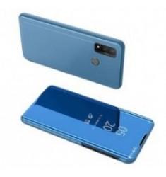 POWERTECH θήκη Clear view MOB-1516, Huawei P Smart 2020, μπλε
