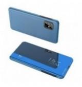 POWERTECH θήκη Clear view MOB-1535 για Samsung A51 5G, μπλε