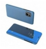 POWERTECH θήκη Clear view MOB-1537 για Samsung A71 5G, μπλε