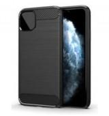 POWERTECH Θήκη Carbon Flex MOB-1548 για iPhone 12 Pro, μαύρη