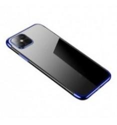 POWERTECH θήκη Clear color MOB-1555, iPhone 12 mini, μπλε