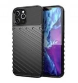 POWERTECH Θήκη Carbon MOB-1559 για iPhone 12 Pro, μαύρη