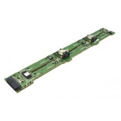 """DELL used Hard Drive Backplane D109N 2.5"""" 1x6 SAS/SATA for R610, R810"""