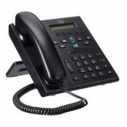CISCO used Unified IP Phone CP-6941-C-K9, Black