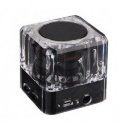 POWERTECH Bluetooth Speaker PT-404, Portable, 3W, Led Light, Black