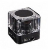 POWERTECH Bluetooth Speaker PT-404, Portable, 3W, Led Light, Black