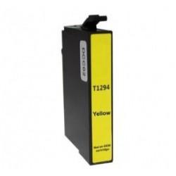 Συμβατό Inkjet για EPSON T1294, 12ml, Yellow