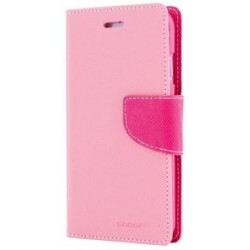 MERCURY Θήκη Fancy Diary για Samsung A3 2017, ροζ