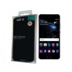 MERCURY Θήκη Soft Feeling Jelly για Huawei P10, Black