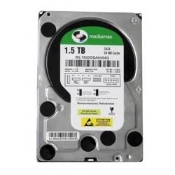 """MEDIAMAX Σκληρός Δίσκος 3.5"""", 1.5TB, 64MB, 5400RPM, SATA II, New"""