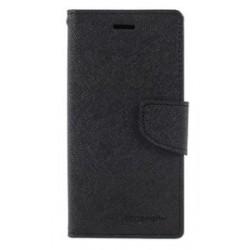 MERCURY Θήκη Fancy Diary για iPhone X, Black