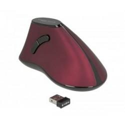 DELOCK Εργονομικό Vertical Mouse, Οπτικό, ασύρματο, 5 buttons