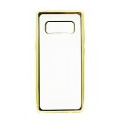 POWERTECH Θήκη Metal TPU για Samsung Note 8, Gold