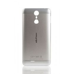ULEFONE Battery Cover για Smartphone Metal, ασημί