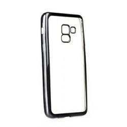 POWERTECH Θήκη Metal TPU για Samsung Galaxy A8 2018, διάφανη