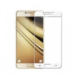 POWERTECH Tempered Glass 3D Full Face για Samsung J2 Pro 2018, λευκό