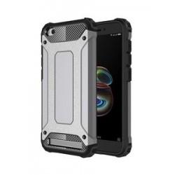 POWERTECH θήκη Hybrid Protect για Xiaomi Redmi 5A, ασημί