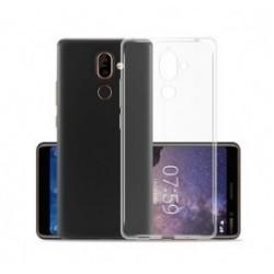 POWERTECH Θήκη Clear 0.5mm για Nokia 7 Plus, διάφανη